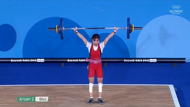 Nguyễn Thị Thu Trang từng giành HCB Olympic trẻ 2018.