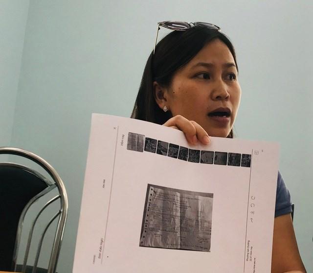 """Chị Nguyễn Thị Vũ đặt câu hỏi: """"Bác sĩ nghĩ sao khi con chúng ta ăn loại giò chả có giá chỉ 65.000 đồng?"""""""
