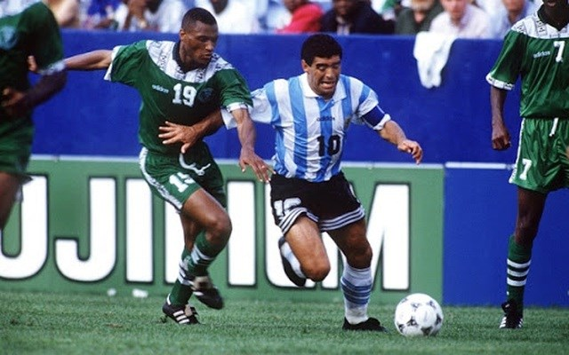 World Cup 1994 là giải đấu cuối cùng của Maradona.