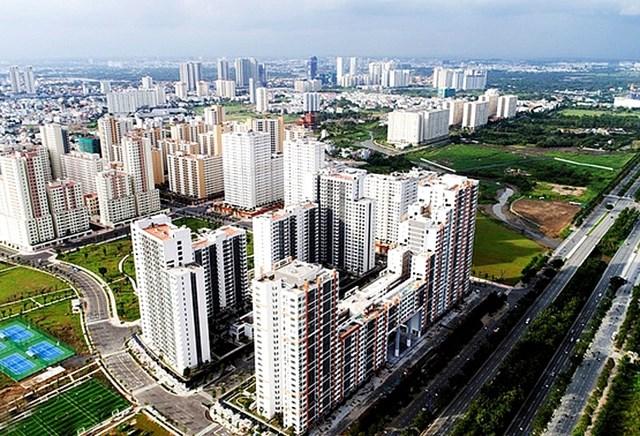 Ở các đô thị lớn, việc phát triển nhà ở vẫn chưa đáp ứng được nhu cầu của người dân.