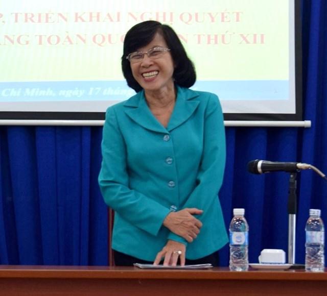 Nguyên Chủ tịch HĐND TP HCM Phạm Phương Thảo.