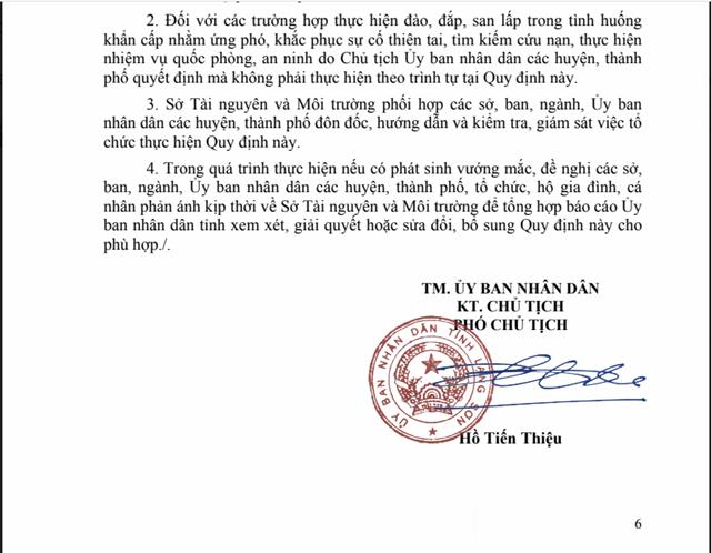Quyết định số 1188/QĐ-UBND của UBND tỉnh Lạng Sơn do ông Hồ Tiến Thiệu ký ban hành.