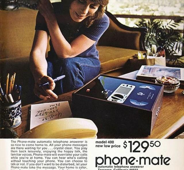 Máy trả lời Phone-Mate: 129,50 USD.