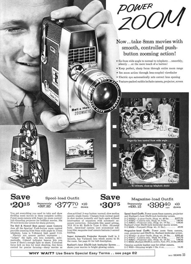 Máy ảnh Bell & Howell 8mm: 207,70 USD.