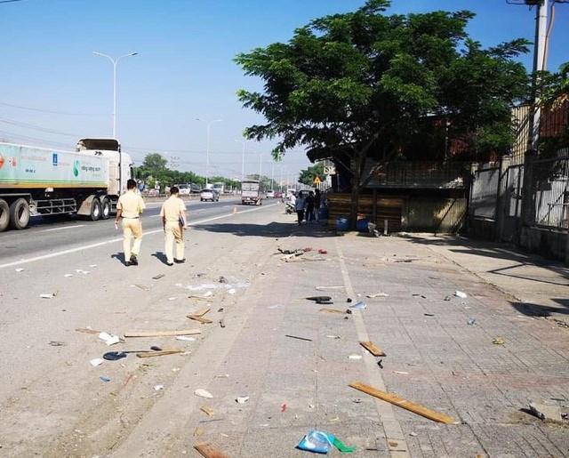 Đến trưa cùng ngày lực lượng chức năng thị xã Phú Mỹ mới hoàn tất công tác khám nghiệm hiện trường vụ tai nạn