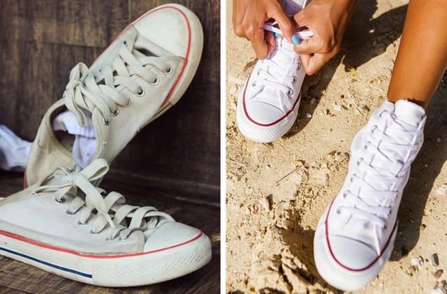 Tẩy trắng giày bằng các nguyên liệu có sẵn trong nhà - Ảnh 3