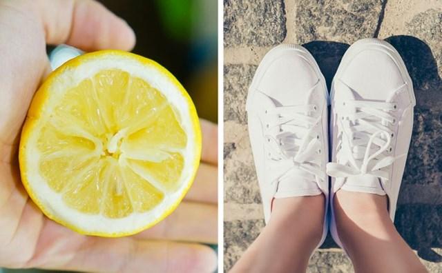 Tẩy trắng giày bằng các nguyên liệu có sẵn trong nhà - Ảnh 7