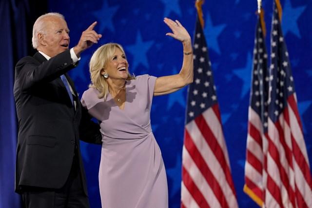 Tổng thống đắc cử Joe Biden và Phu nhân.