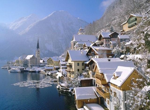 Hallstatt, Áo.