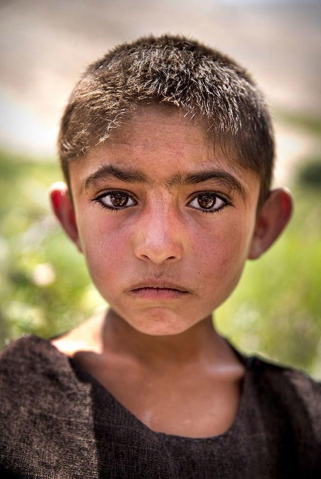 Cậu bé Khik , Afghanistan.