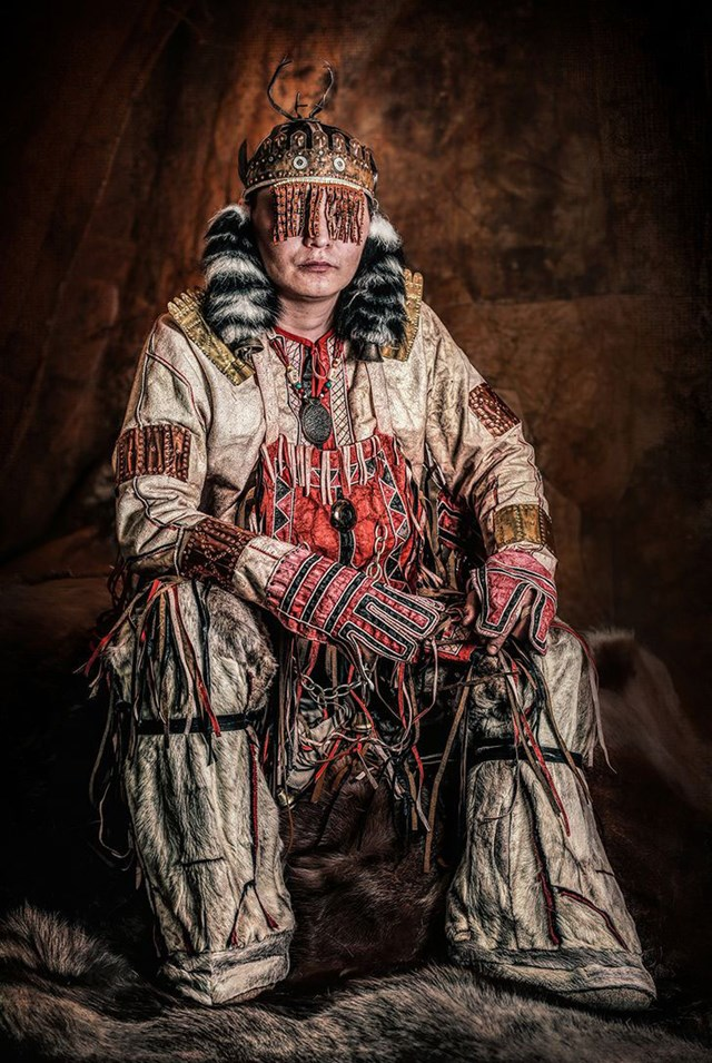 Alyu Khoymumyakovitch Chunanchar thuộc nhóm bản địa Nganasan ở Bắc Cực.