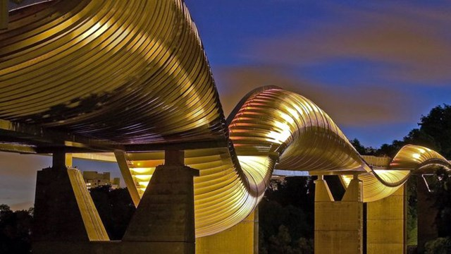Cầu Henderson Waves ở Singapore.