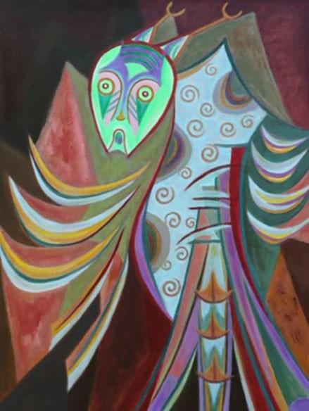 Triển lãm hội hoạ 'Mặt Lạ' - Ảnh 1