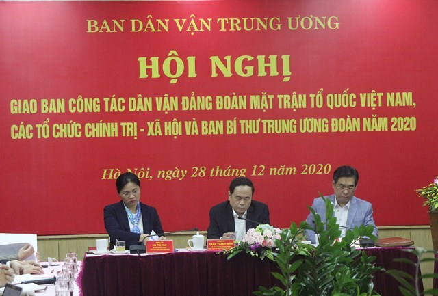 Chủ tịch Trần Thanh Mẫn chủ trì Hội nghị.