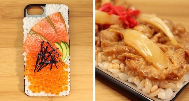 Ốp lưng smartphone siêu thực giống hệt bữa tối của bạn.