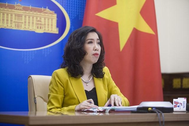 Việt Nam lên tiếng về việc tàu Trung Quốc tới gần giàn hải Thạch