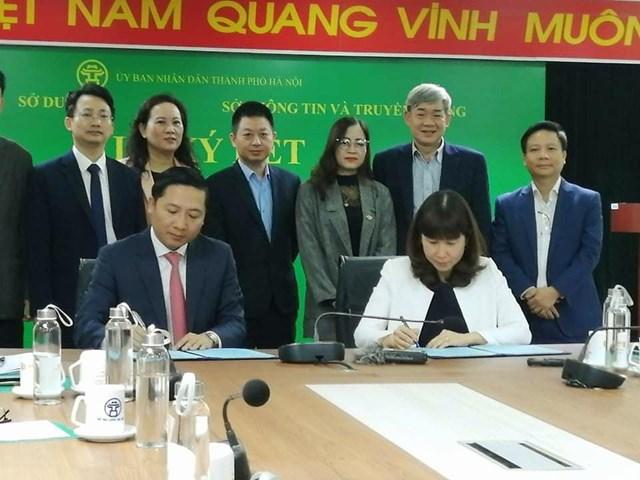 Quang cảnh lễ ký kết Chương trình phối hợp công tác