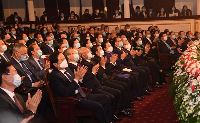 Các đại biểu dự lễ kỷ niệm