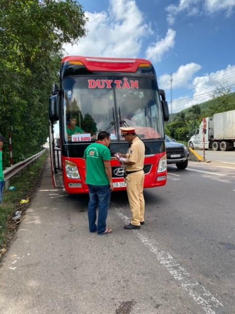 Công an GT Bình Định tăng cương công tác kiểm tra.
