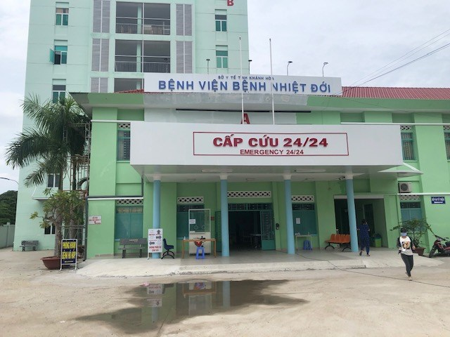 Bệnh viện Bệnh Nhiệt đới Khánh Hòa nơi đã chữa khỏi các bệnh nhân Covid-19.