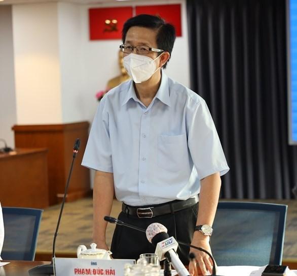 Ông Phạm Đức Hải, Phó trưởng Ban chỉ đạo phòng chống dịch Covid-19 TP HCM.