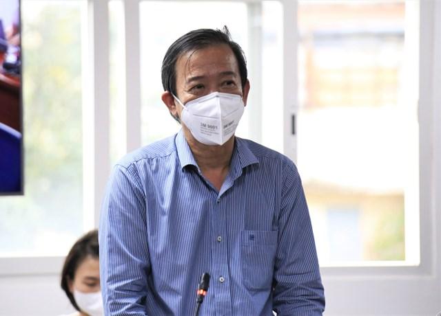 Bác sĩ Nguyễn Văn Vĩnh Châu, Phó Giám đốc Sở Y tế TP HCM.