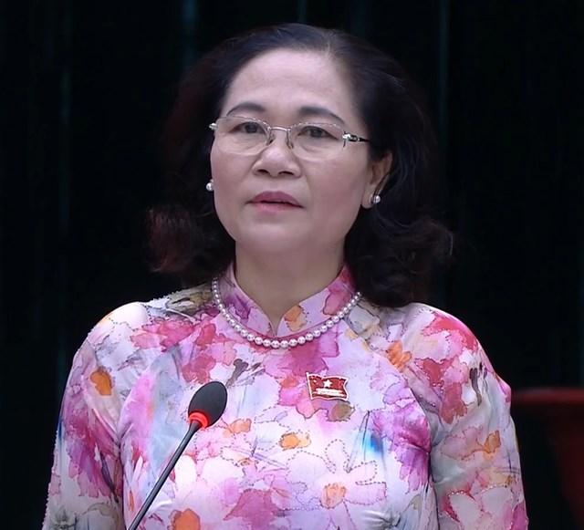 Kỳ họp thứ 23 HĐND TP HCM khóa IX do Chủ tịch HĐND TP Nguyễn Thị Lệ chủ trì
