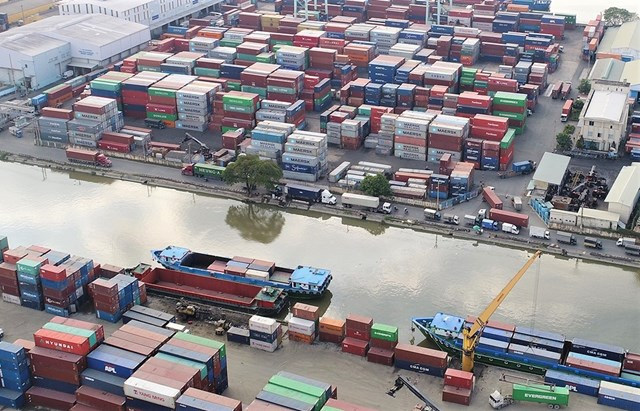 Các cảng và các bãi xe container khu vực Q.Thủ Đức, TP HCM