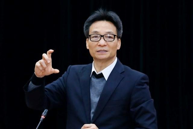Phó Thủ tướng VũĐứcĐam phát biểu tại Hội nghị.