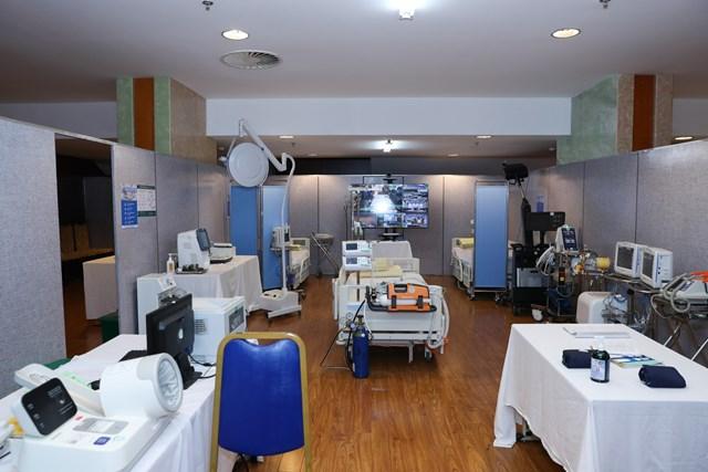 Khai trương Trung tâm Y tế phục vụ Đại hội XIII của Đảng - Ảnh 2