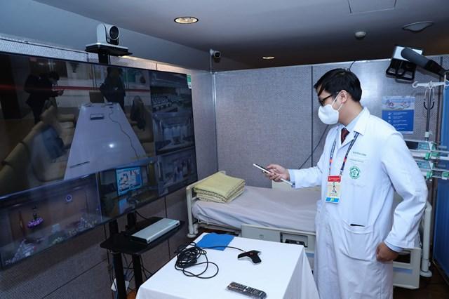 Khai trương Trung tâm Y tế phục vụ Đại hội XIII của Đảng - Ảnh 3