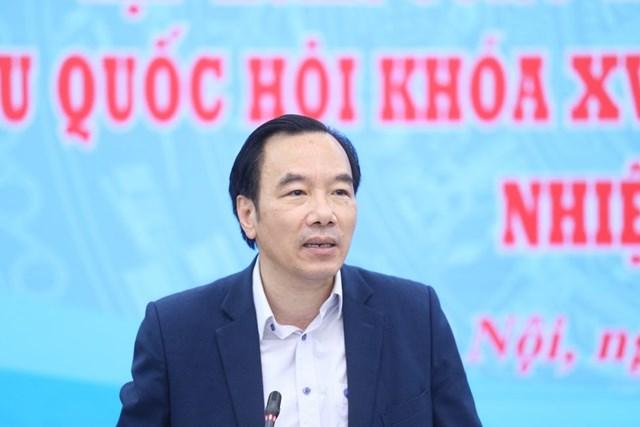 Phó Chủ tịch Ngô Sách Thực phát biểu tại Hội nghị.