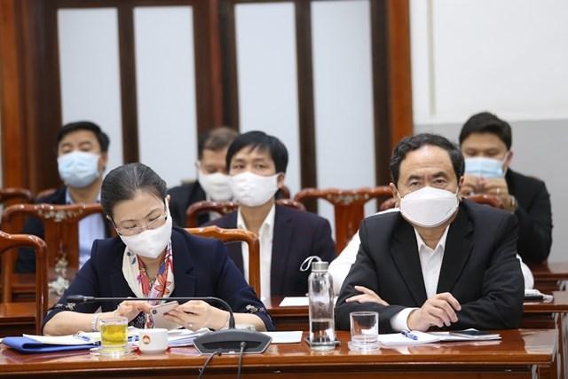 Ủy viên Bộ Chính trị, Chủ tịch Trần Thanh Mẫn tham dự Hội nghị