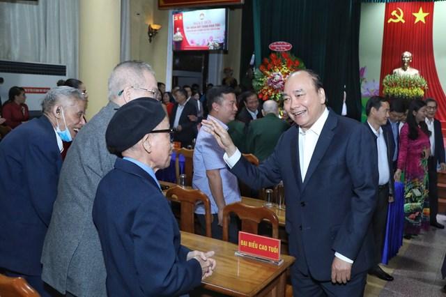 Thủ tướng Chính phủ Nguyễn Xuân Phúc dự Ngày hộiĐạiđoàn kết toàn dân tộc phườngĐiện Biên.