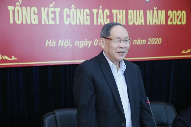 Thượng tướng Nguyễn Văn Rinh, Chủ tịch Hội Nạn nhân chấtđộc da cam/dioxin Việt Nam phát biểu.