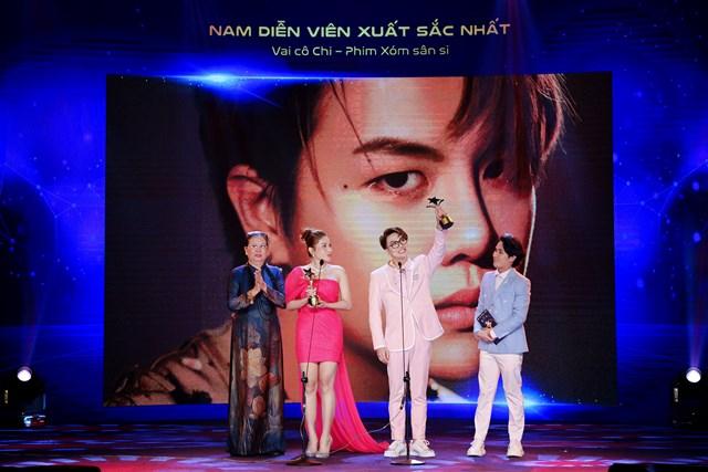 Nam, nữ diễn viên xuất sắc nhất hạng mục Web Drama Duy Khánh - Khả Như.