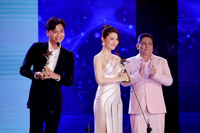 Nam, nữ diễn viên xuất sắc Xuân Nghị - Diễm My 9x.