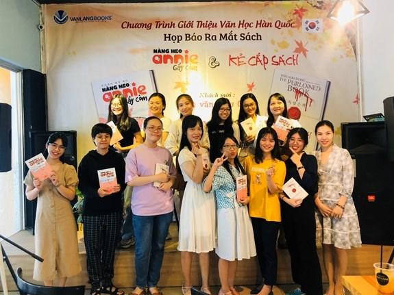 Mang văn học Hàn Quốc đến gần hơn với độc giả Việt Nam