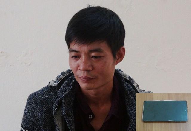 Đối tượng Trần Văn Quang và tang vật vụ án