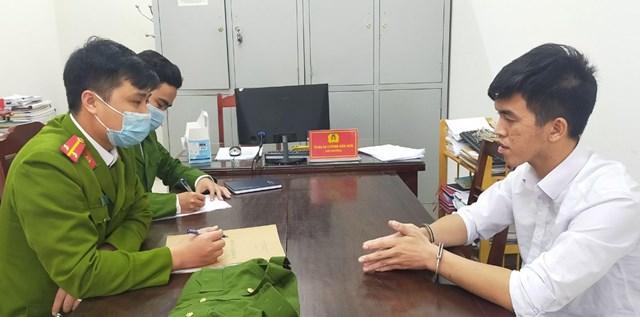 Trần Quốc Thái khai nhận tại cơ quan Công an tỉnh Thanh Hóa