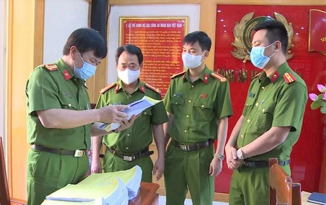 Phó Giám đốc Công an tỉnh Thanh Hóa trực tiếp chỉ đạo vụ án.
