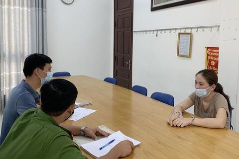 Trong 4 tháng đầu năm 2021, Lê Thị Tâm tiếp tục đi lừa đảo trên 2 tỷ đồng của nhiều người.