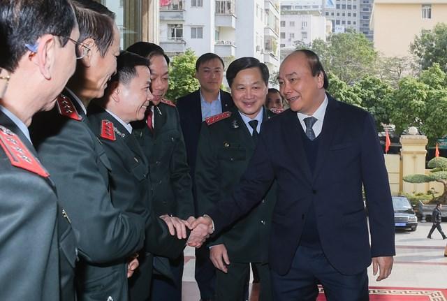 Thủ tướng Nguyễn Xuân Phúc với các đại biểu tham dự Hội nghị. Ảnh: VGP.