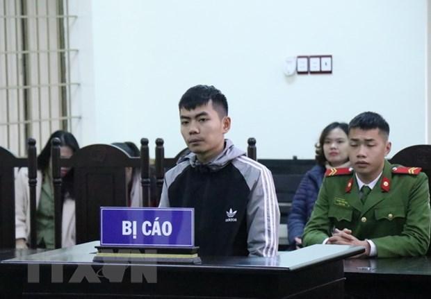 Bị cáo Mai Văn Thuyết tại buổi xét xử.