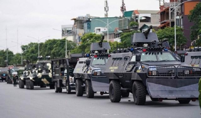 Các lực lượng tham gia bảo vệ Đại hội Đảng toàn quốc lần thứ XIII đã sẵn sàng.