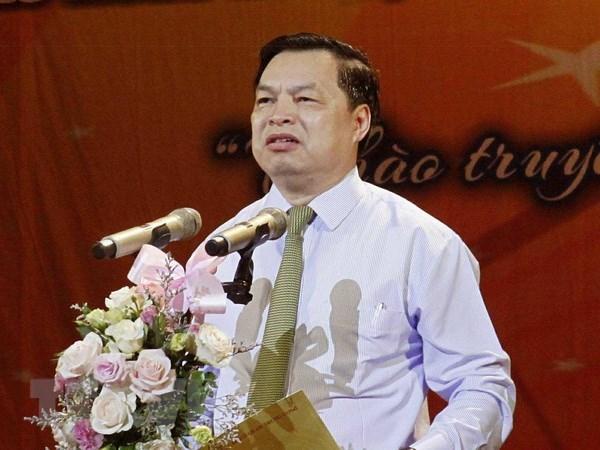 Phó Trưởng ban Tuyên giáo Trung ương Lê Mạnh Hùng.