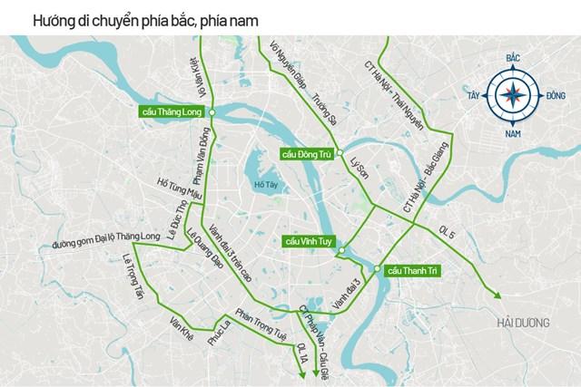 Bản đồ cấm đường phục vụ Đại hội Đảng - Ảnh 4
