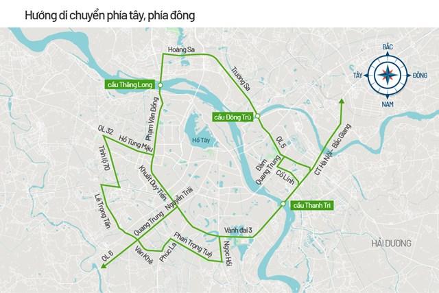 Bản đồ cấm đường phục vụ Đại hội Đảng - Ảnh 5