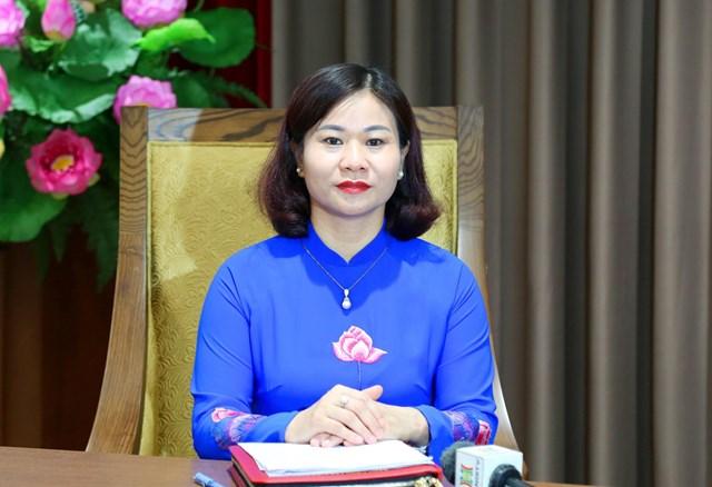 Phó Bí thư thường trực Thành ủy Hà Nội Nguyễn Thị Tuyến.