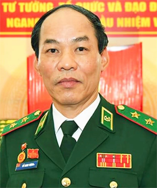Trung tướng Đỗ Danh Vượng.